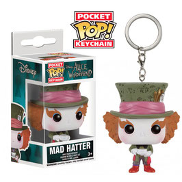 LLAVERO POCKET POP! ALICE IN WONDERLARND (MAD HATTER)