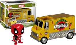 FIGURA POP! DEADPOOL (DEADPOOL & VEHICULO CHIMICHANGA) nº10