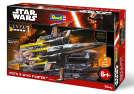 MAQUETA STAR WARS REVELL POE'S X-WING FIGTHER