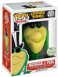 FIGURA POP! LOONEY TUNES (MICHIGAN J. FROG)