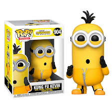 FIGURA POP! MINIONS THE RISE OF GRU (KUNG FU KEVIN) Nº904