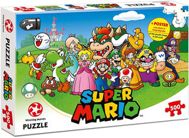 PUZZLE SUPER MARIO FRIENDS 500 PIEZAS