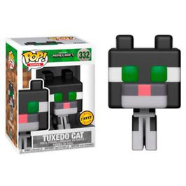FIGURA POP! MINECRAFT (TUXEDO CAT) OCELOT CHASE EDITION