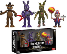 PACK 4 FIGURAS - FIVE NIGHTS AT FREDDY'S (SET TWO)