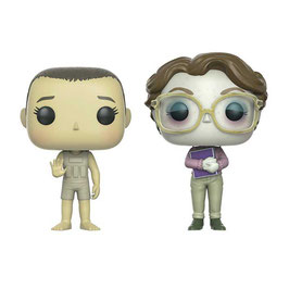 FIGURA POP! PACK 2 FIGURAS STRANGER THINGS (UPSIDE DOWN ELEVEN & BARB ECCC 2017)