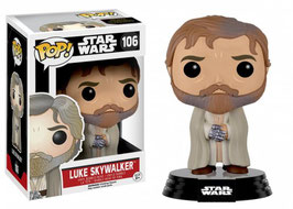 FIGURA POP! STAR WARS (LUKE SKYWALKER BARBUDO) nº106