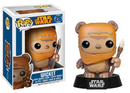 FIGURA POP! STAR WARS (WICKET)