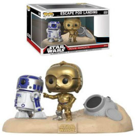 FIGURA POP! STAR WARS MOVIE MOMENTS (ESCAPE POD LANDING)