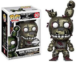 FIGURA POP! FIVE NIGHTS AT FREDDY (DARK SPRINGTRAP)