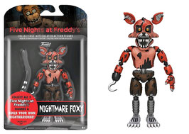 FIGURA ARTICULADA FIVE NIGHTS AT FREDDY'S (NIGHTMARE FOXY)
