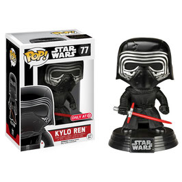 FIGURA POP! STAR WARS (KYLO REN) LIMITED EDITION Nº77