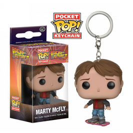 LLAVERO POCKET POP! REGRESO AL FUTURO II (MARTY MCFLY ON HOVERBOARD)