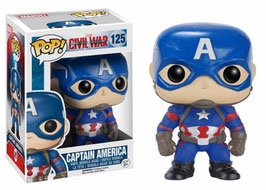 FIGURA POP! CAPITAN AMERICA (CIVIL WAR) Nº125