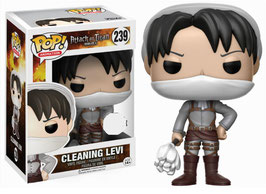 FIGURA POP! ATTACK ON TITAN (LEVI CLEANING)