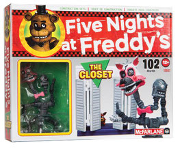 FIVE NIGHTS AT FREDDY'S KIT CONSTRUCCION THE CLOSET