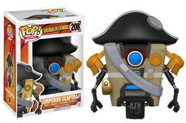 FIGURA POP! BORDERLANDS (EMPEROR CLAPTRAP) nº208