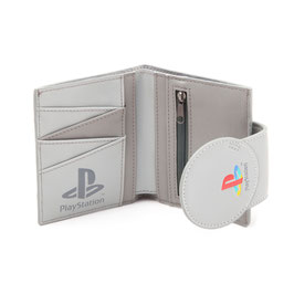BILLETERO CON PORTAMONEDA SONY PLAYSTATION