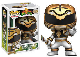 FIGURA POP! POWER RANGERS (WHITE RANGER) nº405