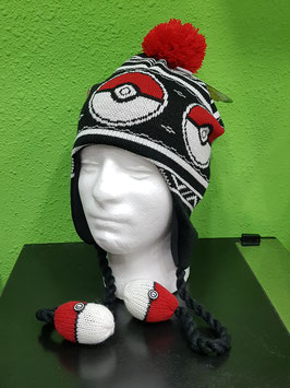 GORRO POKÉMON (POKEBOLAS)