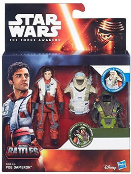 STAR WARS THE FORCE AWAKENS - POE DAMERON BATTLES
