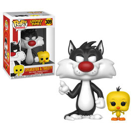 FIGURA POP! LOONEY TUNES (SYLVESTER & TWEETY)