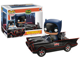FIGURA POP! BATMOBILE CON BATMAN nº01