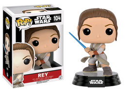FIGURA POP! STAR WARS (REY BATTLE POSE)