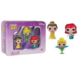 POCKET POP! DISNEY PRINCESAS (PACK 3)