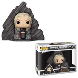 FIGURA POP! JUEGO DE TRONOS (DAENERYS TARGARYEN ON DRAGONSTONE THRONE)
