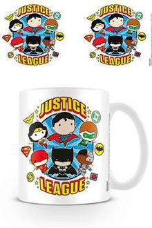 TAZA JUSTICE LEAGUE (CHIBI JUSTICE LEAGUE)