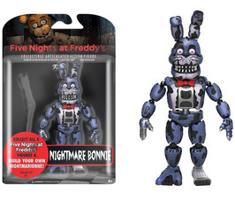 FIGURA ARTICULADA FIVE NIGHTS AT FREDDY'S (NIGHTMARE BONNIE)
