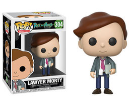 FIGURA POP! RICK Y MORTY (LAWYER MORTY)