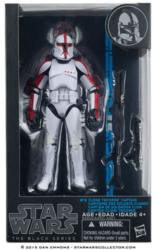 STAR WARS THE BLACK SERIES - CLONE TROOPER 13