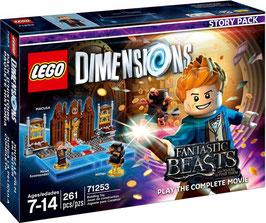 LEGO DIMENSIONS 71253 ANIMALES FANTASTICOS Y DONDE ENCONTRARLOS (STORY PACK)