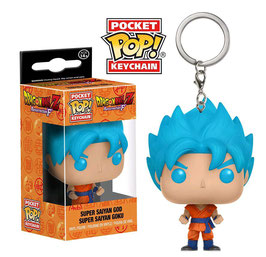 LLAVERO POCKET POP! DRAGON BALL Z (SUPER SAIYAN GOD SUPER SAIYAN GOKU)