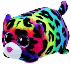 PELUCHE TEENY TY LEOPARDO (JELLY)