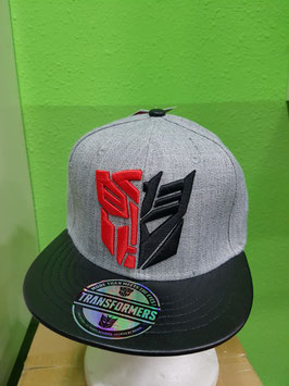GORRA TRANSFORMERS AUTOBOT Vs DECEPTION