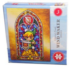 PUZZLE LEGENDS OF ZELDA WIND WAKER VER.3 (550 piezas)