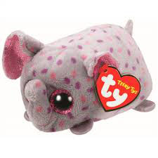 PELUCHE TEENY TY ELEFANTE (TRUNKS)