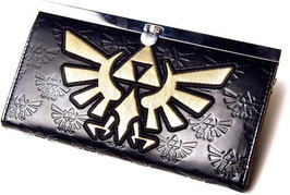 MONEDERO THE LEGEND OF ZELDA GOLDEN LOGO