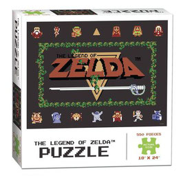 PUZZLE LEGEND OF ZELDA CLASSIC (550 PIEZAS)
