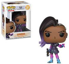 FIGURA POP! OVERWATCH (SOMBRA)