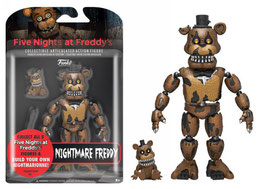 FIGURA ARTICULADA FIVE NIGHTS AT FREDDY'S (NIGHTMARE FREDDY)