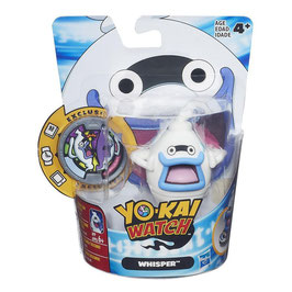 FIGURA CON MEDALLA YO-KAI WATCH (WHISPER)