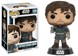 FIGURA POP! STAR WARS ROGUE ONE (CAPTAIN CASSIAN ANDOR) nº139