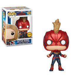 FIGURA POP! CAPTAIN MARVEL (CAPTAIN MARVEL CHASE)