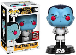 FIGURA POP! STAR WARS (GRAND ADMIRAL THRAWN) SW-CELEBRATION 2017