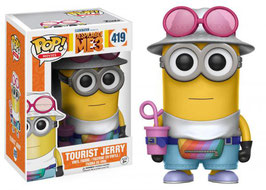 FIGURA POP! DESPICABLE ME 3/GRU MI VILLANO FAVORITO 3 (TOURIST JERRY) nº419