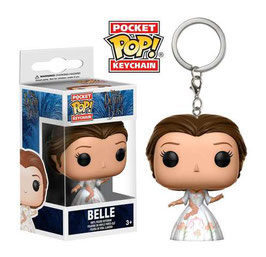 LLAVERO POCKET POP! LA BELLA Y LA BESTIA (CELEBRATION BELLE)