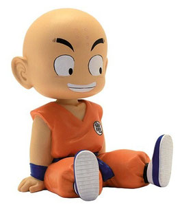 MINI HUCHA DRAGON BALL KRILLIN SENTADO PLASTOY